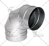 Отвод OTH 90° (диаметр: 180 мм)