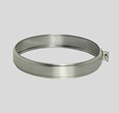 Хомут соединительный (сталь 0,5 мм, диаметр 120 мм) XSHdXX120-DA