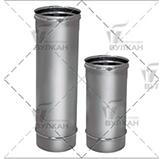 Труба L = 1000 мм (сталь 0,5 мм, диаметр 130 мм, зеркальная) TLvHR1000