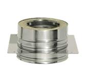 Опора с изоляцией (двустенный, сталь 0,8 мм, диаметр 200 мм) OPFR200-DDDA