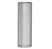 Труба L = 1000 мм (сталь 0,5 мм, диаметр 120x240 мм, матовая) THO