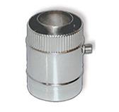 Конденсатоотводчик VCR коаксиальный (сталь 0,5 мм, диаметр 80х130 мм, зеркальная)