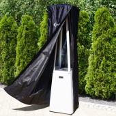 Защитный чехол Kratki для обогревателя Umbrella, черный, белый логотип
