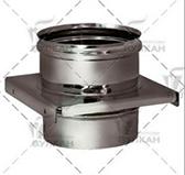 Опора (основание aisi 304) (сталь 0,5 мм, диаметр 120 мм, зеркальная) OPvHR