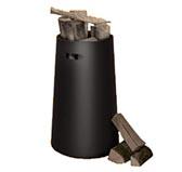 Черная дровница M3