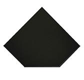Предтопочный лист 021-R9005 1100x1100 черный VPL021R9005