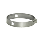 Хомут под растяжки (сталь 0,5 мм, диаметр 150 мм) XRHdXX150-DD