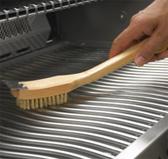 Щетка для чистки решеток гриля с латунным ворсом (62028)