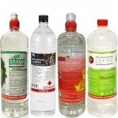 Биотопливо ассорти 6 литров (4 бутылки по 1,5 литра)