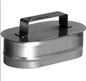 Ревизия (сталь 0,5 мм, диаметр 100x200 мм, матовая) RHO
