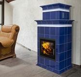 BARACCA 1N c теплообменником, керамика с надстройкой