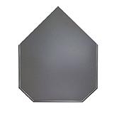 Предтопочный лист 031-R7010 1000x800 серый VPL031R7010