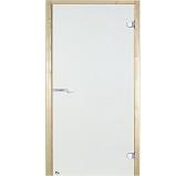 HARVIA Двери стеклянные 7/19 коробка сосна, прозрачная D71904М