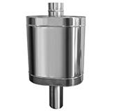 Натрубный бак для воды D115 48л нерж304