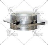 Опора DOH (материал: нержавеющая полированная сталь, диаметр: 115 мм)