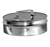Ревизия с изоляцией 50 мм (двустенная, сталь 0,5 мм, диаметр 250 мм, зеркальная) RVvDR