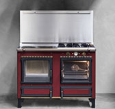 RUSTIC WOOD GAS ELECTRIC 120 THERMO