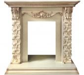 Портал Royal Flame Adriana сланец бежевый/слоновая кость под классические очаги