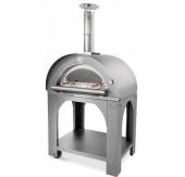 Печь Clementi Maxi Pulcinella 100 inox 430 на дровах