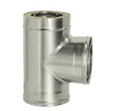 Тройник 90° с изоляцией (двустенный, сталь 0,8 мм, диаметр 200 мм) ТRFR90200-DDDA