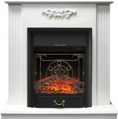 Электрокамин Royal Flame Lumsden белый дуб с очагом Majestic FX Black