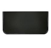 Предтопочный лист 072-R9005 400x800 черный VPL072R9005