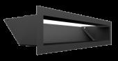 Вентиляционная решетка Kratki Люфт 9х40 черная, 45S