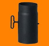 Труба H=250 мм с задвижкой