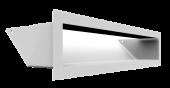 Вентиляционная решетка Kratki Люфт 9х40 белая, 45S