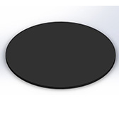 Листовое покрытие для пола, круглое