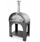 Печь Clementi Maxi Pulcinella 100 inox 304 на дровах