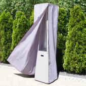 Защитный чехол Kratki для обогревателя Umbrella, белый, черный логотип