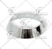 Юбка DUHO (материал: оцинкованная сталь, диаметр 100 мм)