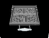 Решетка-гриль чугунная малая (комплект) Grillver для мангалов Файркрафт