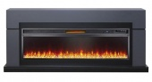 Электрокамин Royal Flame Lindos Graphite Grey 60 с Vision 60 LED
