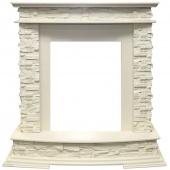 Портал Royal Flame Luzern сланец белый/слоновая кость под классические очаги