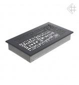 Вентиляционная решетка Kratki 17/30 ABC графит