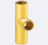 Тройник керамич. для подключ 45 с вентиляционным каналом, внутренний d -20см