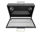 Крышка-гриль (с чугунной решёткой-гриль) для печь-мангалов Grillver Искандер