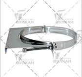 Элемент крепления к стене aisi 321 (сталь 0,5 мм, диаметр 250 мм, матовая) EKvHR