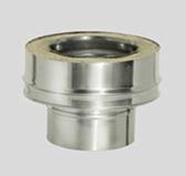 Переходник моно-термо (сталь 0,8 мм, диаметр 200 мм) PMTFR200-DDDA