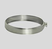 Хомут соединительный обжимной (сталь 0,5 мм, диаметр 120 мм) XSDdXX120-DA