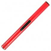 Зажигалка стальная (18см., цвет красный)