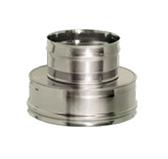 Переходник термо-моно (сталь 0,8 мм, диаметр 200 мм) PTMFR200-DDDA