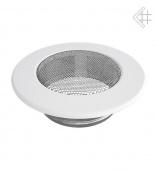 Вентиляционная решетка Kratki d-100 мм Стандарт белая, круглая