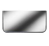 Предтопочный лист 072-INBA 400x800 зеркальный VPL072INBA