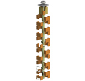 Дымоходный комплект IZOSTAT DUO 160/6/45° или 90°