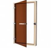SAWO Дверь 730-4SGА, бронза с порогом, 690mm х 1890mm
