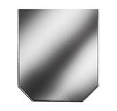Предтопочный лист 061-INBA 900x800 зеркальный VPL061INBA