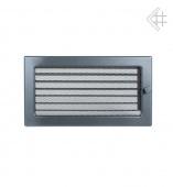 Вентиляционная решетка Kratki 17/30 Стандарт графит, регулируемая